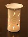 Aromalampe Porzellan | Motiv Sonne