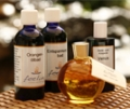Naturreine Badezusätze mit ätherischen Ölen