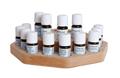 Aromaset Drehteller - ausgewählte ätherische Öle in dekorativem Drehteller