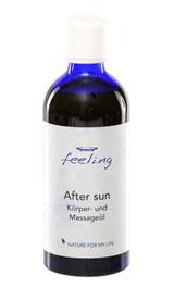 After sun Körper- & Massageöl
