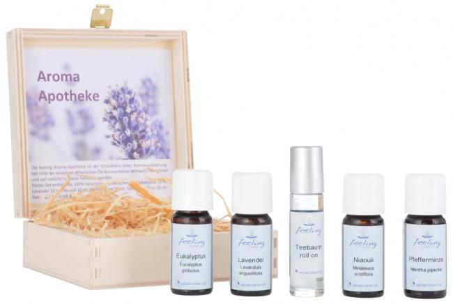 Die Aroma-Apotheke | Naturreine Öle für die Hausapotheke