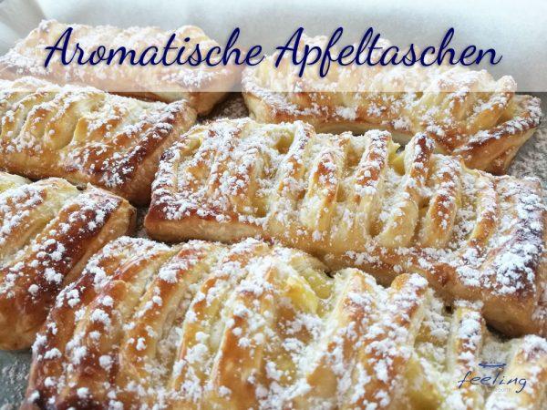 Aromatische Apfeltaschen
