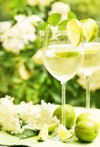 """sommerlicher Cocktail """"Hugo"""""""