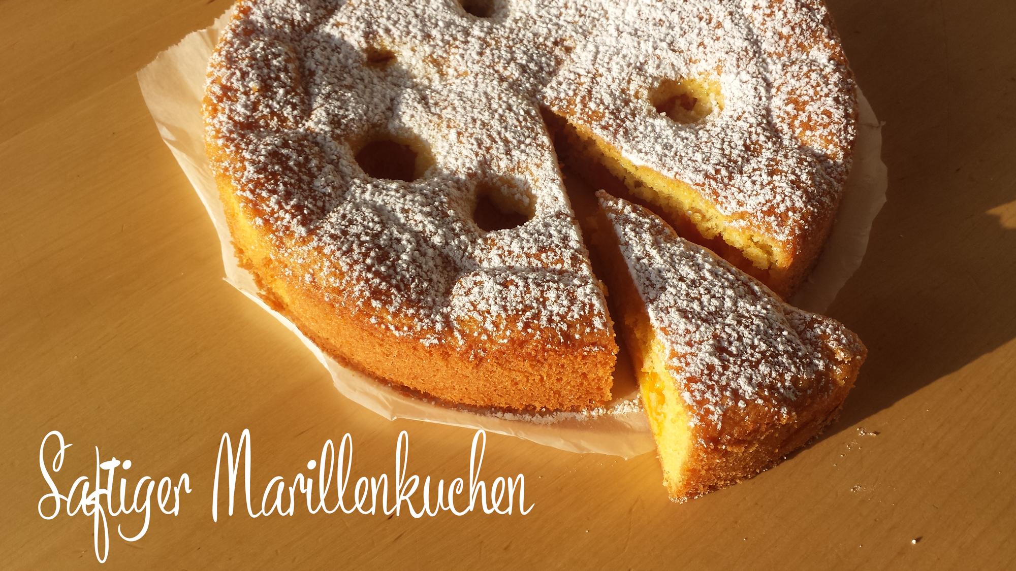Saftiger Marillenkuchen mit Zitronenöl und Tonkaöl