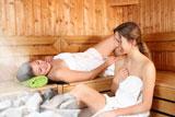 Sauna Set mit ätherischen Ölen