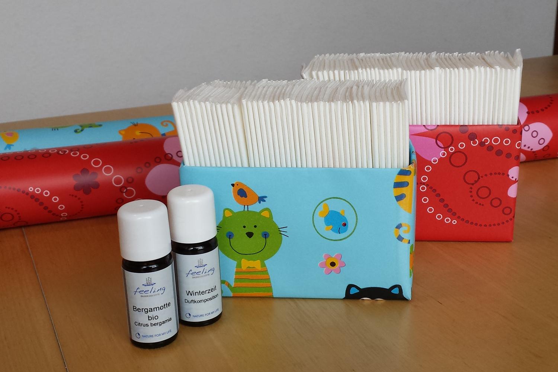 DIY: Basteltipp für eine dufte Taschentücherbox!